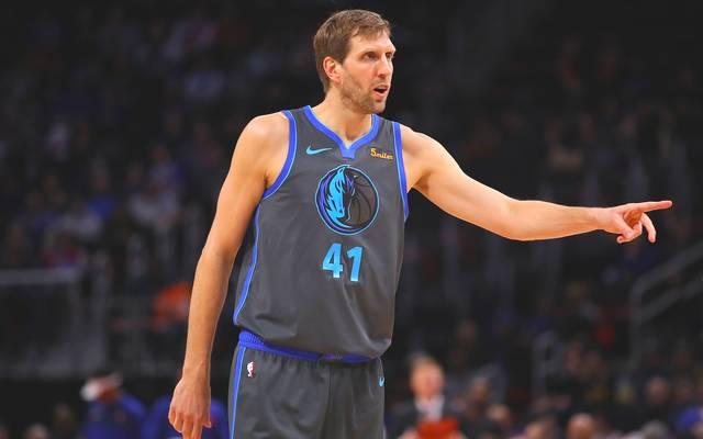 Dirk Nowitzki spielt seit 1999 für die Dallas Mavericks in der NBA