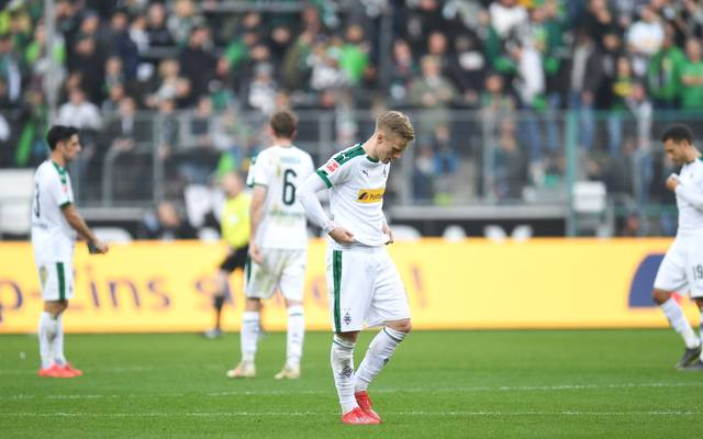 Borussia Mönchengladbach verlor zum zweiten Mal in Serie 0:3