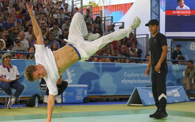Bei den Olympischen Jugendspielen 2018 in Buenos Aires gehörte Breakdance zum Programm