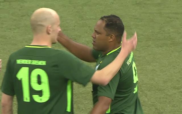 Ailton spielt für Werder Bremen