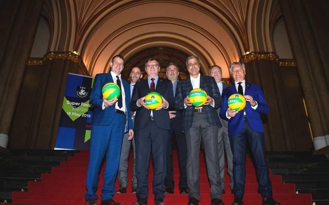 Die Champions-League-Finals im Volleyball finden in Berlin statt