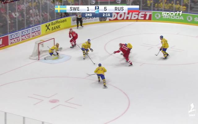 Russland schlägt Schweden bei der Eishockey-WM