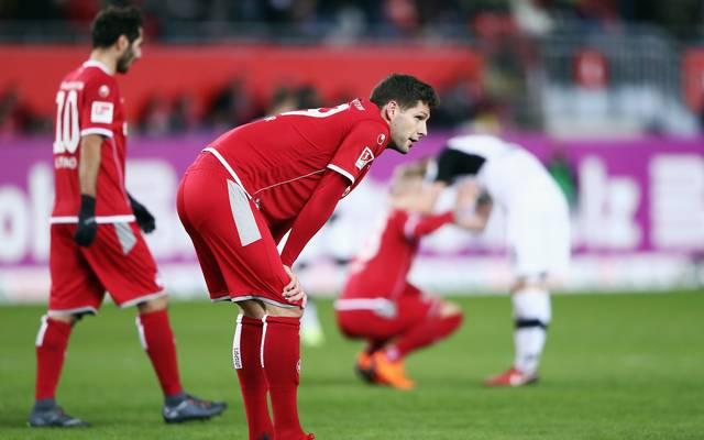 Kaiserslautern steht auf dem letzten Tabellenplatz