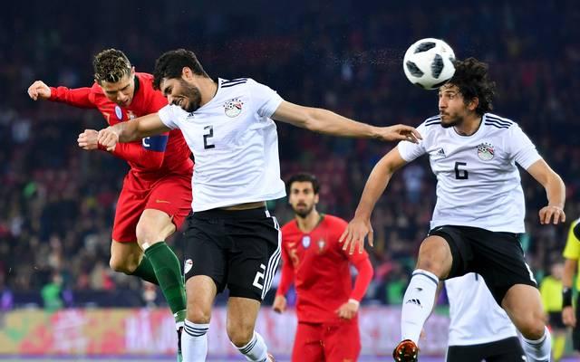 Cristiano Ronaldo traf in der Nachspielzeit gegen Ägypten gleich doppelt