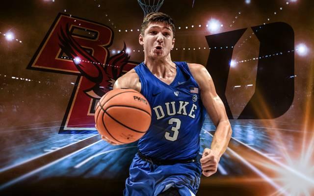 Die Boston College Eagles treffen auf die Duke Blue Devils