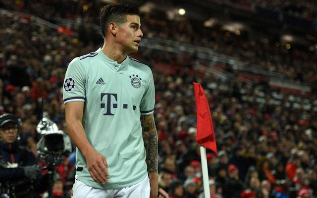 Die Bayern können James Rodriguez für eine Ablöse von 42 Millionen Euro fest verpflichten