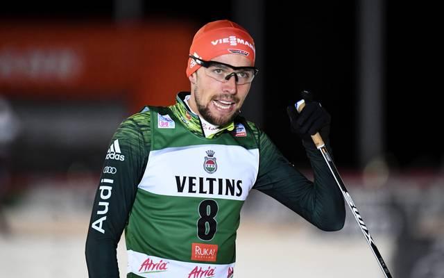 Johannes Rydzek geht sonst erfolgreich in der Nordischen Kombination an den Start