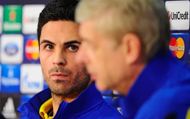 Mikel Arteta spielte von 2011 bis zu seinem Karriereende 2016 beim FC Arsenal