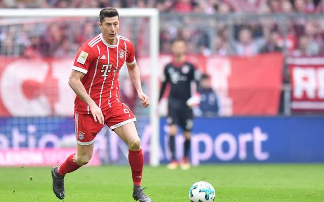 Bayerns Robert Lewandowski sitzt gegen Leipzig vorerst auf der Bank