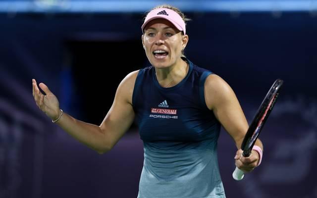 Tennis: Angelique Kerber scheidet überraschend nach Leistungseinbruch aus