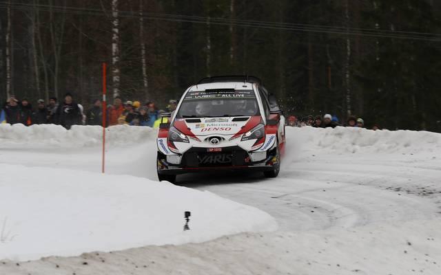 Ott Tänak liegt vor dem Schlusstag der Rallye Schweden klar in Führung