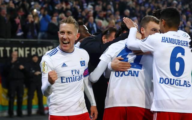 Mit einem Sieg gegen Dynamo Dresden kann sich der Hamburger SV in der Tabelle ein Polster aufbauen