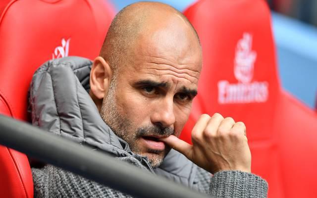 Manchester City um Trainer Pep Guardiola investierte bislang 90 Millionen Euro in neue Spieler