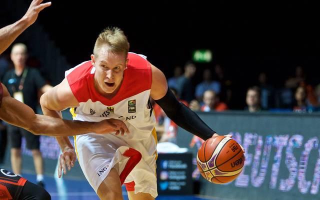 Basketball: Robin Benzing aus Deutschland
