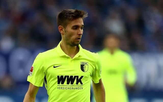Moritz Leitner wird für ein halbes Jahr vom FC Augsburg an Norwich City ausgeliehen