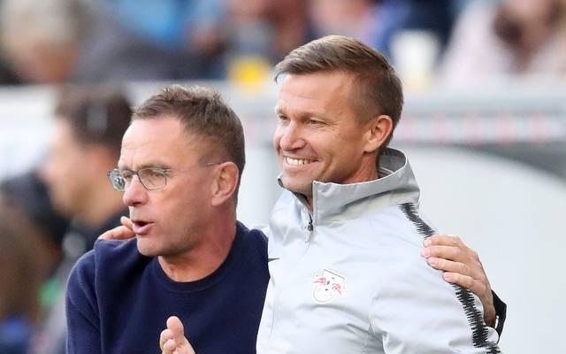 """""""Viel Glück in Salzburg"""": Ralf Rangnick lässt seinen Co-Trainer Jesse Marsch ziehen"""