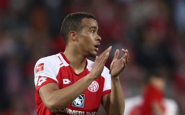 Robin Quaison war mit drei Toren erfolgreichster Schütze der Mainzer