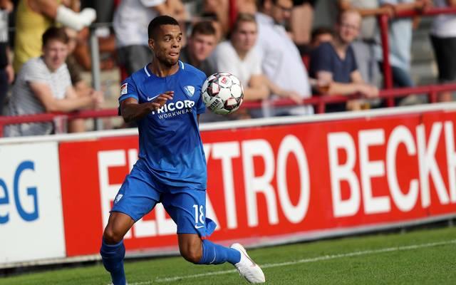 Jan Gyamerah wurde nach seiner Roten Karte gegen Bielefeld für zwei Spiele gesperrt