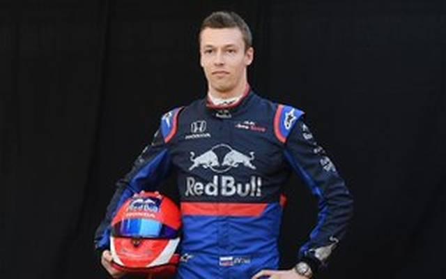 Daniil Kwjat ist zurück bei Toro Rosso in der Formel 1