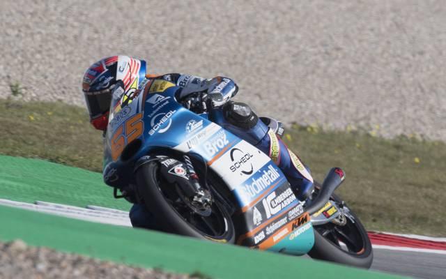 Philipp Öttl fährt auch beim GP in den Niederlanden kein gutes Ergebnis ein