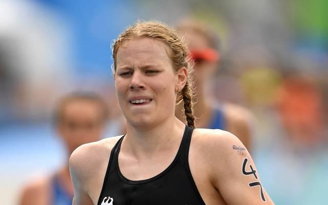 Laura Lindemann wurde beim Hamburg-Triathlon Zweite
