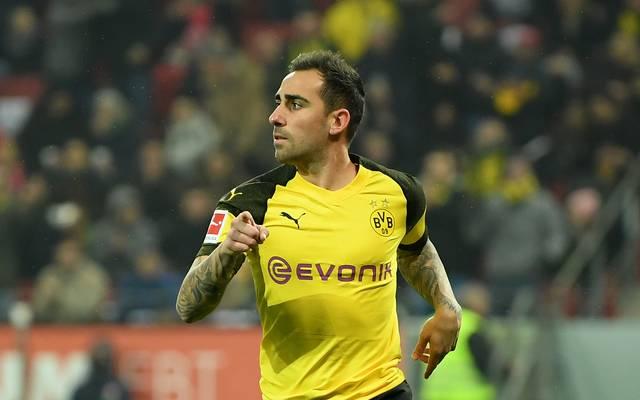 Paco Alcacer steht in der Startelf von Borussia Dortmund