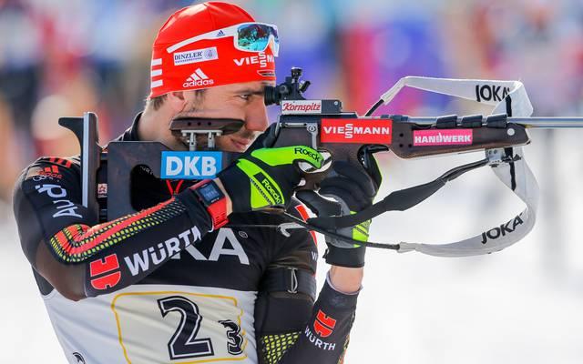 Biathleten laufen in Oslo am Podest vorbei - Peiffer landet auf Rang sechs