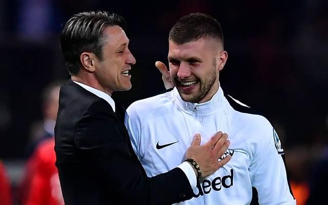 Niko Kovac arbeitete bei Eintracht Frankfurt mit Ante Rebic zusammen