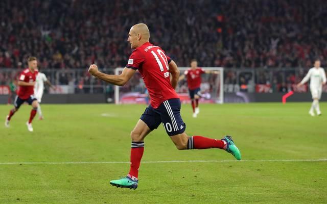 Ajen Robben  Bundesliga: Die beste ausländische Torjäger