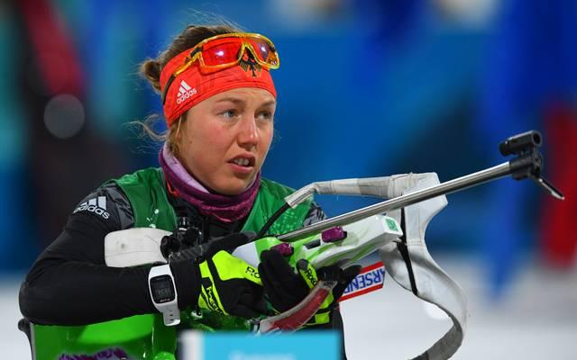 Laura Dahlmeier steht vor ihrem Comeback im Biathlon-Weltcup