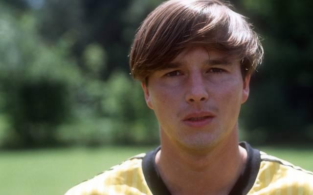 Jörg Stübner absolvierte 47 Länderspiele für die DDR und gewann zwei Meistertitel mit Dynamo Dresden