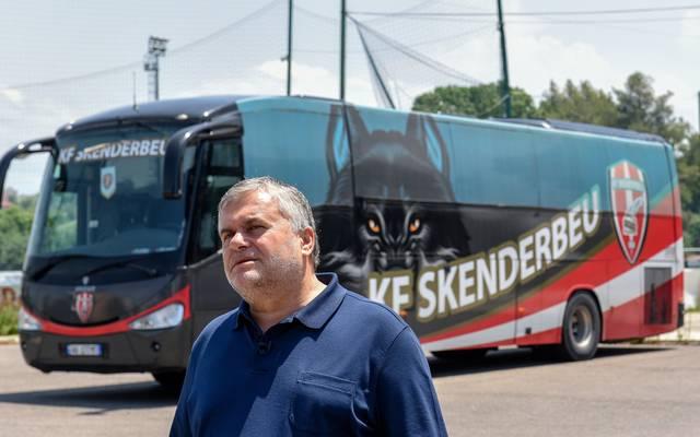 Skenderbeus Präsident Ardian Takaj könnte bei der Wettmanipulation, in die sein Klub involviert sein soll, eine entscheidende Rolle gespielt haben