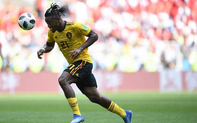 Michy Batshuayi darf gegen England von Beginn an ran