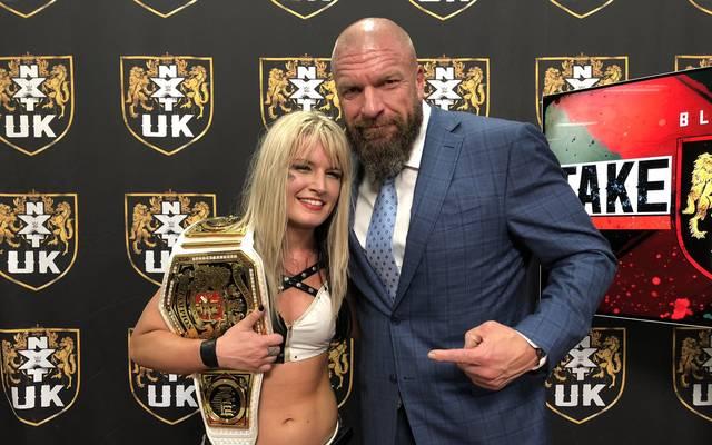 Toni Storm gewann vor den Augen von Triple H den UK-Damentitel von WWE