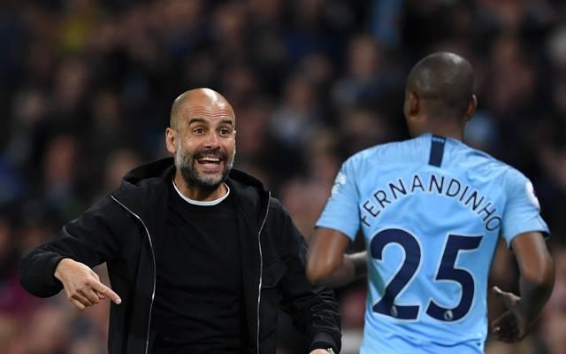 Pep Guardiola sucht einen Nachfolger für Fernandinho
