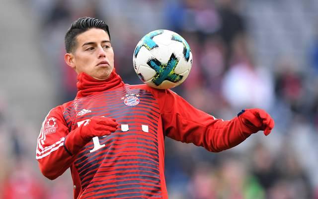 James Rodriguez spielt beim FC Bayern München