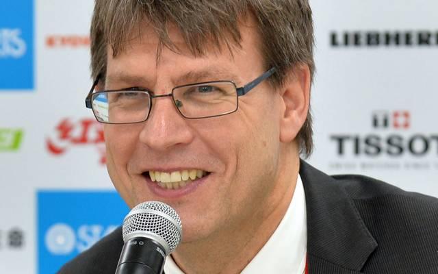 Thomas Weikert ist seit Mai 2017 Präsident der ITTF