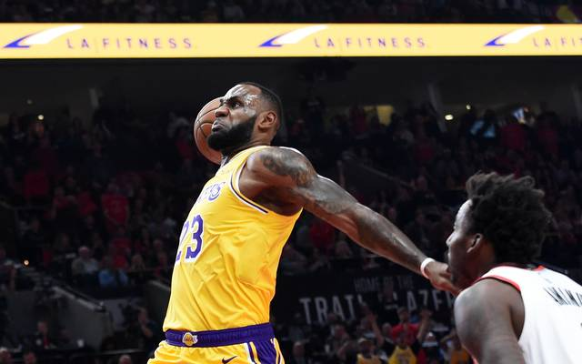 Los Angeles Lakers v Portland Trail Blazers