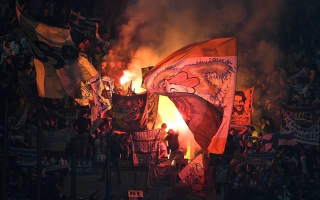 Fans von Olympique Marseille fielen in der Europa League negativ auf