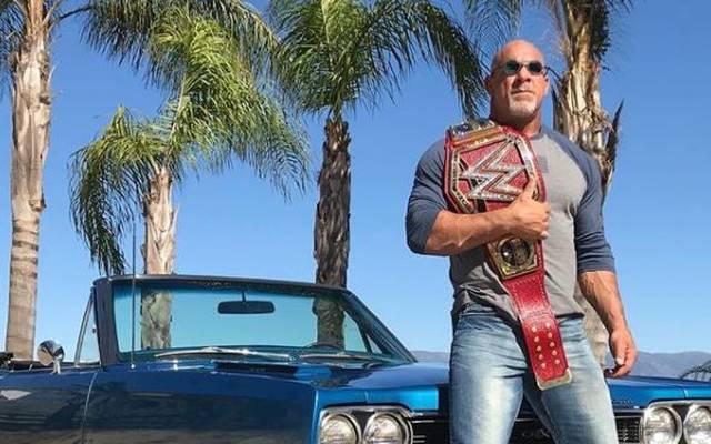 Bill Goldberg verlor den WWE Universal Title bei WrestleMania 34 gegen Brock Lesnar