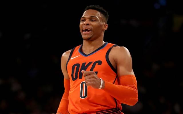NBA: Oklahoma City Thunder schlagen Orlando Magic - Westbrook glänzt