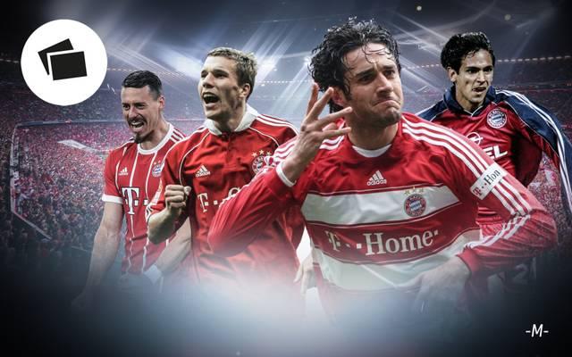 SPORT1 checkt die Backup-Stürmer des FC Bayern seit der Jahrtausendwende