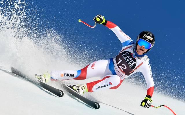 Ski Alpin: Zeitchaos in Crans Montana - Gut-Behrami verliert Podestplatz