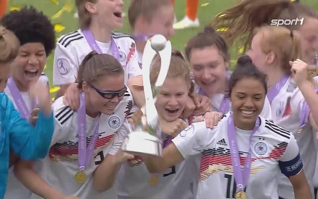 U17-EM: Damen nach Elfmeter-Krimi gegen die Niederlande Europameister