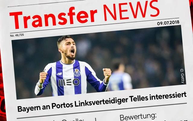 Alex Telles soll beim FC Bayern im Gespräch sein
