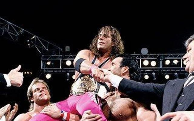 Lex Luger musste Bret Hart den großen Sieg bei WrestleMania X überlassen