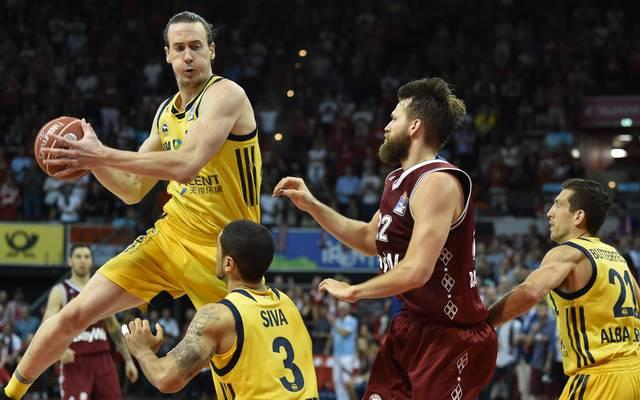 Basketball, BBL: Clint Chapman wechselt von Alba Berlin zu Riesen Ludwigsburg, Clint Chapman wechselt von ALBA Berlin nach Ludwigsburg