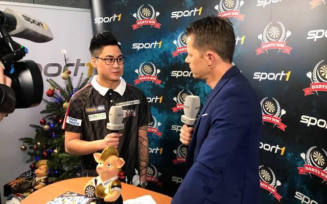 Darts-WM 2019: Rowby-John Rodriguez wird SPORT1-Experte bei WM