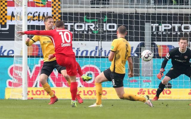 Nikola Dovedan erzielte das Tor des Tages gegen Dresden