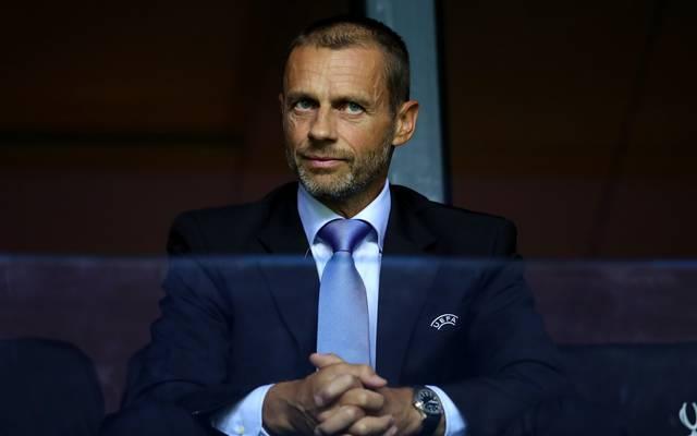 UEFA-Präsident Aleksander Ceferin spricht über Super League , UEFA-Präsident Aleksander Ceferin ist gegen eine Super League